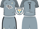 2º Uniforme City - Goleiro