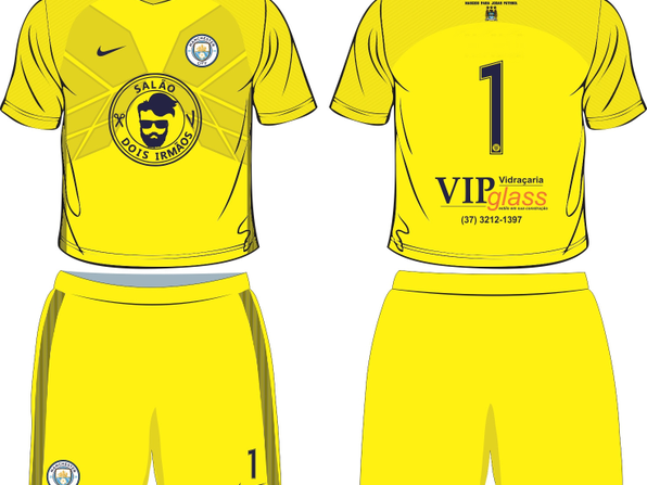 1º Uniforme City - Goleiro